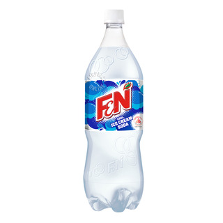 F&N Flavoured Bottle Drink - Cool Ice Cream Soda