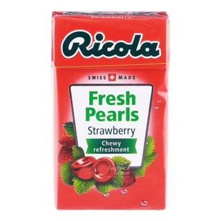 Ricola Fresh Pearls Sugar Free Candy - Strawberry