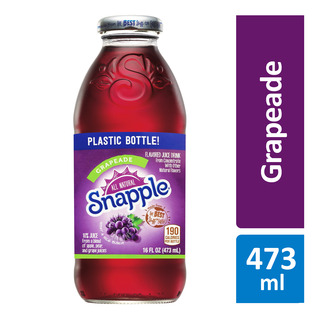 Snapple Bottle Drink - Grapeade