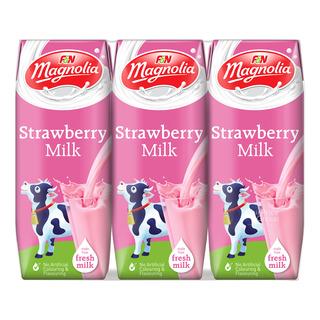 F&N Magnolia UHT Packet Milk - Strawberry