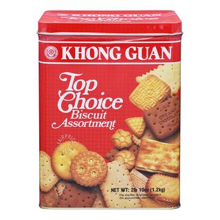 Khong Guan Assortment Biscuits - Top Choice (Tin)