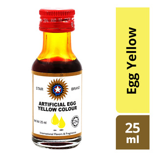 Star Brand Artificial Food Colouring - Egg Yellow 25ml| FairPrice ...