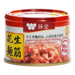 Wei Chuan Fried Gluten (Granule) in Soy Sauce with Peanut