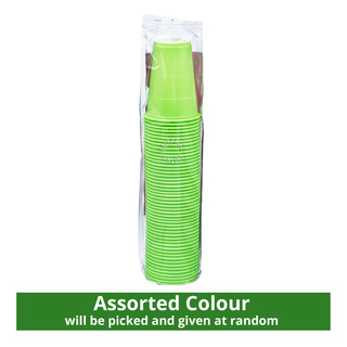 HomeProud Disposable Cups - Assorted Colours