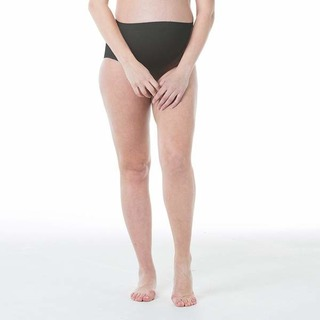 Spring Maternity Mavis Seamless Belly Support BriefBlack