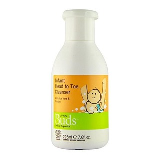 Buds Organics BEO Infant Head to Toe Cleanser