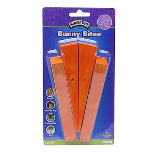 Super Pet Bunny Bites Carrots 4Pk
