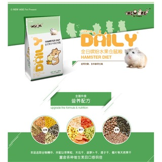 Edai New Age Hamster Daily Diet Fruits