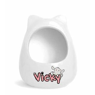 Edai Vicky Chinchilla Ceramic Room White
