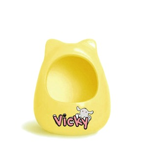Edai Vicky Chinchilla Ceramic Room Yellow