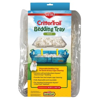 Kaytee Crittertrail Bedding Tray 3Pk