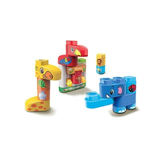 LeapFrog Block Play Wild Animals