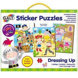 GALT Sticker Puzzles - Dressing Up