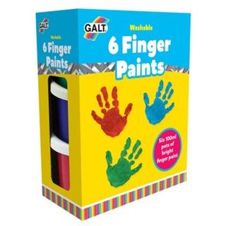 GALT Paints 6 Finger Paints - Washable