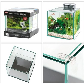 Gex Glassterior CUBE 300 - (Tank only)