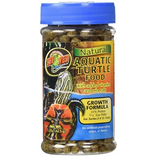 Zoo Med Natural Turtle Food - Growth Formula