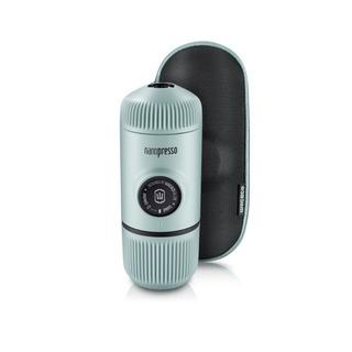 Nanopresso Arctic Blue Portable Espresso Maker + Hard Case