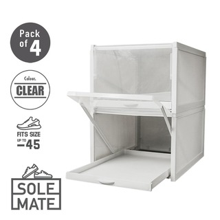 SoleMate Slidey Front Drop Shoe Drawer (Pack of 4)