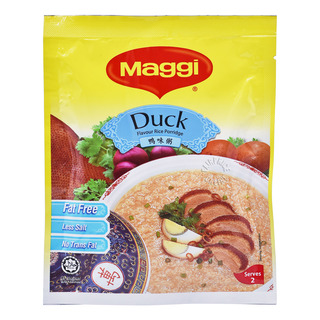 Maggi Instant Rice Porridge - Braised Duck