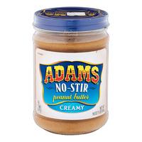 Adams No-Stir Peanut Butter - Creamy