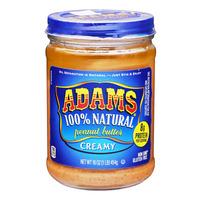 Adams 100% Natural Peanut Butter - Creamy