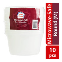 HomeProud Microwave-Safe Food Container - Round (M)