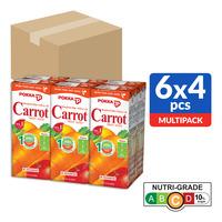 Pokka Packet Drink - Carrot Fruit Juice  24 x 250ML (CTN)
