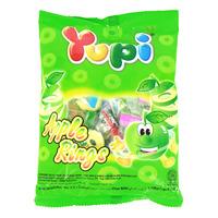 Yupi Gummy Candies - Apple Rings