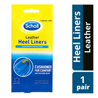 Scholl Heel Liners - Leather