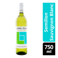 Long Flat White Wine - Semillon Sauvignon Blanc