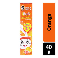Darlie Bunny Kids Toothpaste - Orange