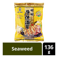 Want Want Rice Crackers - Seaweed