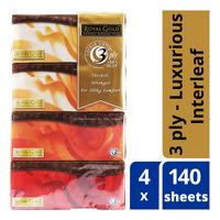 Royal Gold Luxurious Interleaf Tissue - Box