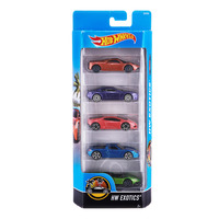 Hot Wheels Car Gift Set - Exotics