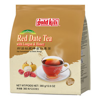 Gold Kili Instant Red Date Tea Drink - Longans Honey