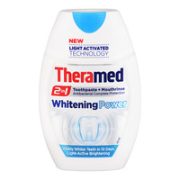 Theramed 2 in 1 Toothpaste + Mouthrinse - Whitening