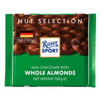 Ritter Sport Chocolate - Whole Almonds