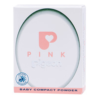 Pigeon Baby Compact Powder - Pink