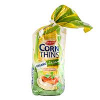 Real Foods Corn Thin - Organic Sesame