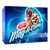 F&N Magnolia Mag-A-Cone Ice Cream - Vanilla & Chocolate