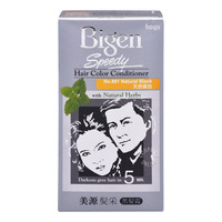 Bigen Speedy Hair Color Conditioner - Natural Black