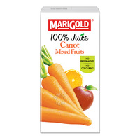 Marigold 100% Packet Juice - Carrot Mixed Fruits