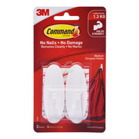3M Command Designer Hooks - Medium