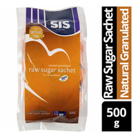 SIS Raw Sugar Sachets - Natural Granulated