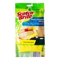 3M Scotch-Brite Multi-Purpose Gloves - Fresh Lemon (L)