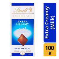 Lindt Excellence Chocolate Bar - Extra Creamy (Milk)