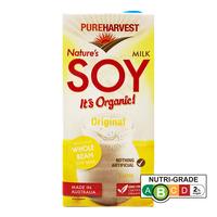 Pureharvest Organic Nature's Soy Milk - Original
