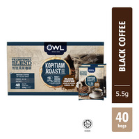 Owl Traditional Blend Coffee Bags 40S