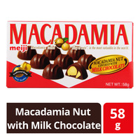 Meiji Macadamia Nut with Chocolate - Milk