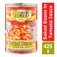 Mili Baked Beans in Tomato Sauce